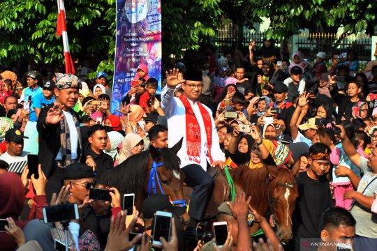 Helaran hari jadi kota Bogor