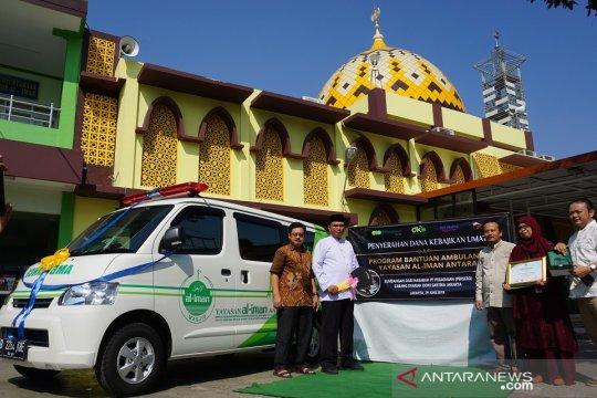 Pegadaian sumbang ambulans untuk masjid di Bekasi