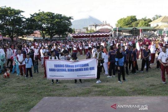 Polda Maluku Utara gelar deklarasi Indonesia damai