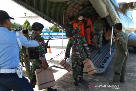 Tim SAR gabungan kembali cari MI 17 dari arah Jayapura dan Timika