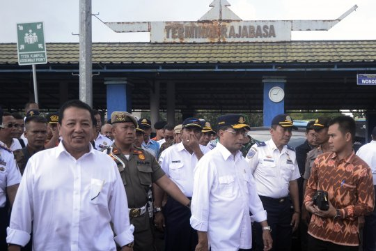 Kunjungan kerja Menhub di Lampung