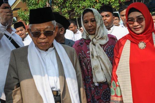 KH Ma'ruf Amin apresiasi Tanara menjadi destinasi wisata religi