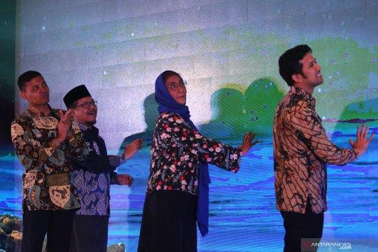 Peluncuran program Anak Indonesia Suka Makan Ikan