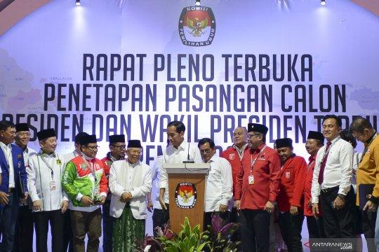 Berita politik kemarin, tim koalisi Jokowi hingga capres Golkar
