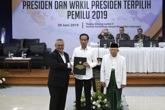 Komunitas Pakde Karwo ucapkan selamat kepada Jokowi-Ma'ruf Amin