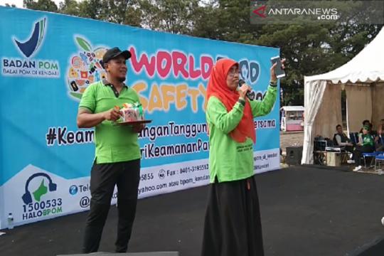 BPOM Kendari edukasi masyarakat kenali pangan yang aman