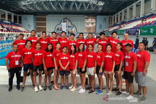 Indonesia boyong 20 medali kejuaraan renang junior Asia Tenggara