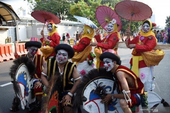 Yogyakarta tampilkan tari edan-edan di Jakarnaval 2019