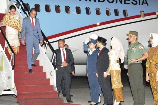 Emil Dardak dapat tips jaga kesehatan dari Presiden Jokowi