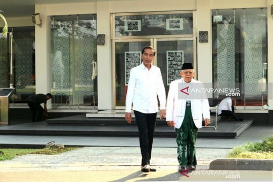 Jokowi ajak Prabowo-Sandi bersama bangun negeri