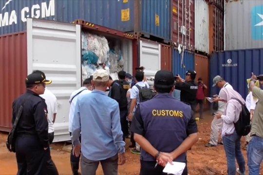 Hasil pemeriksaan limbah impor rampung
