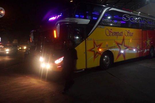 Bus tingkat jadi pilihan utama pemudik ke Aceh