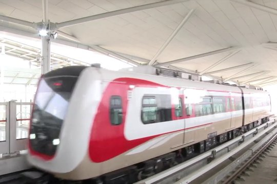 LRT Jakarta mulai uji coba publik gratis mulai 11 Juni