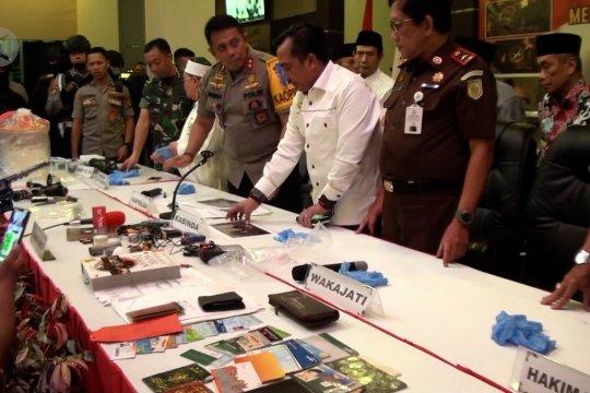 Polda Kalteng amankan 33 terduga teroris , 2 ditetapkan sebagai tersangka