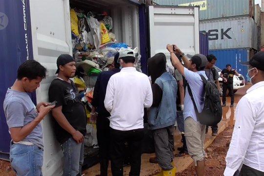 Hasil uji laboratorium 65 kontainer limbah butuh tiga hari