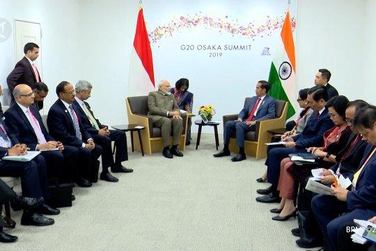 Indonesia ajak India tingkatkan kerja sama ekonomi dan maritim