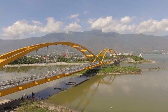 Jepang bantu bangun kembali ikon Kota Palu, jembatan IV