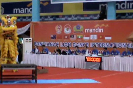Kejuaraan Barongsai Internasional 2019 digelar di Pontianak