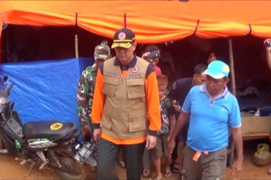 Kepala BNPB cek sanitasi & kesehatan pengungsi korban banjir