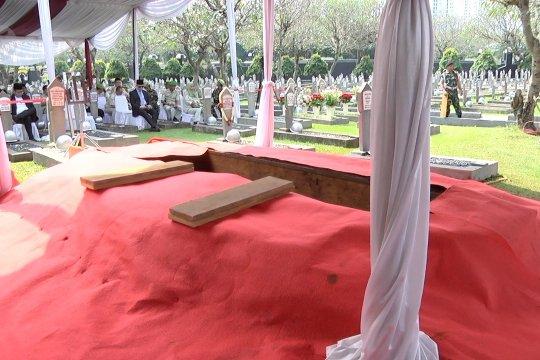 Persiapan di TMP Kalibata jelang pemakaman Ani Yudhoyono