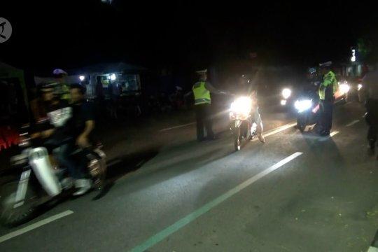 Polres Sukabumi Kota lakukan razia berskala besar