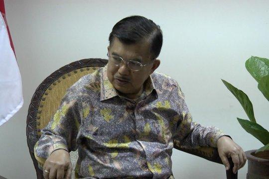 Wapres JK apresiasi instruksi Prabowo untuk tidak ada aksi massa