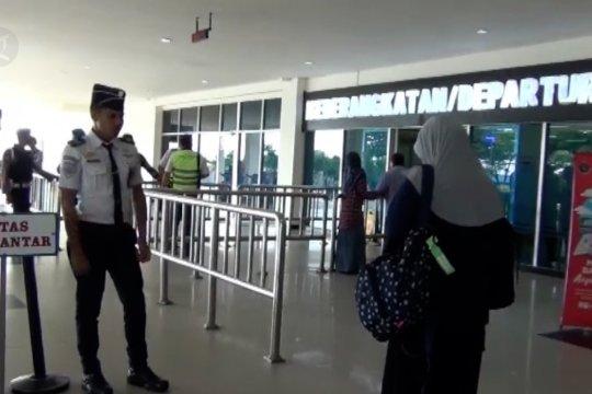 Pemudik melalui Bandara Haluoleo-Kendari turun 25 persen