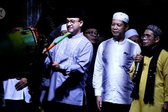 Takbir kembali bergema di langit Jakarta