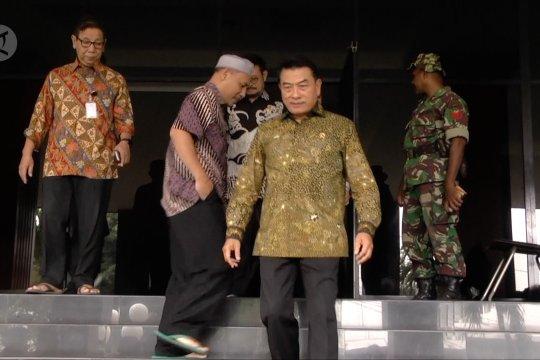 Moeldoko minta pendukung Prabowo konsisten tidak ke MK