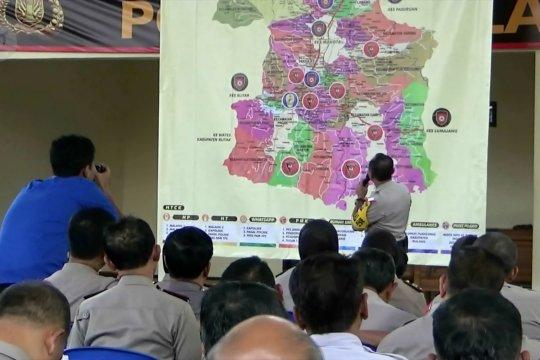 Polisi deteksi dua desa masuk zona merah