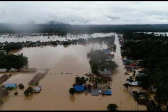 8.516 Warga masih mengungsi akibat banjir di Konawe Utara
