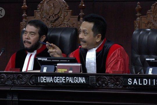Hakim MK pertanyakan konsistensi jawaban saksi BPN