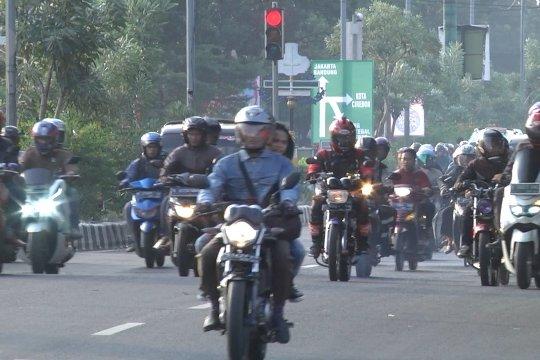 Pemudik motor mulai ramaikan jalur Pantura
