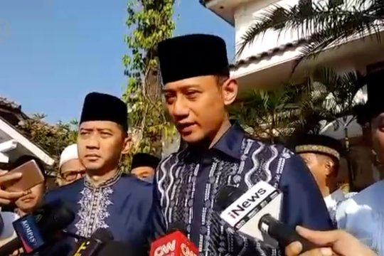 AHY mohon doa untuk kesehatan SBY