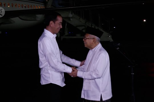 Jokowi: tidak ada lagi 01 dan 02