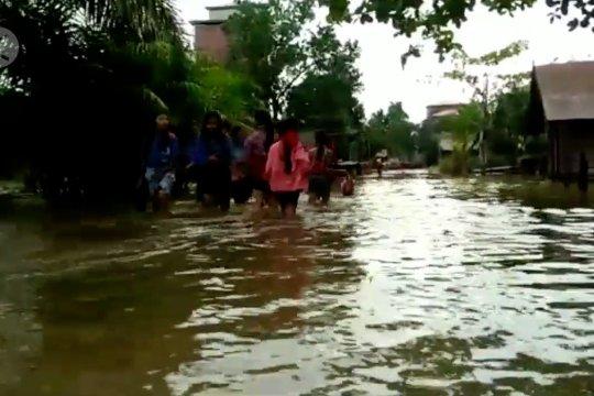 Banjir parah merendam kawasan hulu Kotim