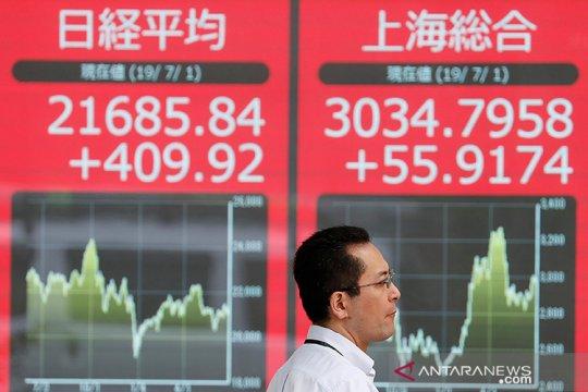 Saham Tokyo dibuka melambung, terkerek Indeks Dow tembus level 30.000