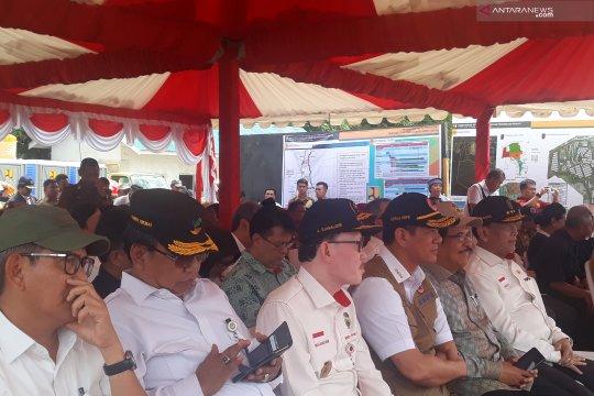 Wiranto letakkan batu pertama huntap korban likuefaksi Sigi di Pombewe