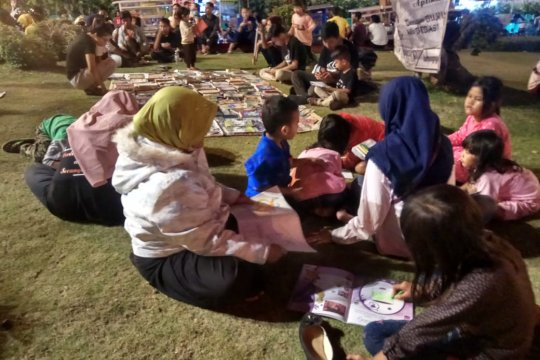 Komunitas Lampung Ngopi ajak masyarakat tumbuhkan minat baca