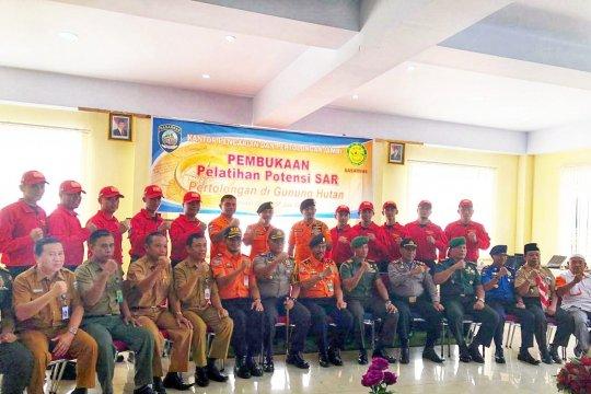 Basarnas Jambi gelar pelatihan SAR pertolongan di gunung