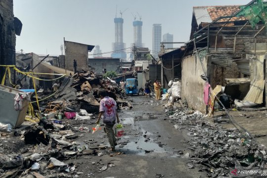 Korban kebakaran di Tanah Abang harap masih bisa menempati lokasi