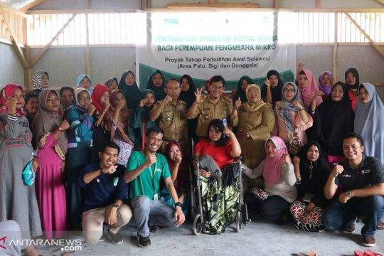 LPBI-NU bantu modal usaha perempuan korban bencana Sulteng