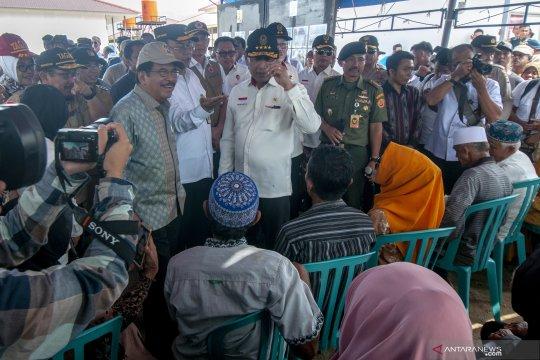 Wiranto: pembangunan huntap di Sulteng  secepatnya dirampungkan