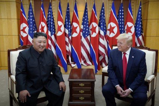 Trump akan bertemu lagi dengan Kim Jong Un hanya jika ada kemajuan