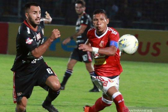 Bali United FC kalahkan Perseru Badak Lampung FC