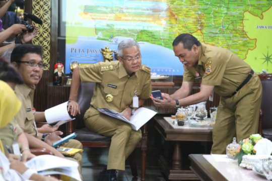 Dua rumah sakit paparkan inovasi kepada Gubernur Jawa Tengah