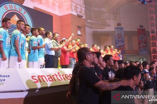 Gubernur Olly targetkan Sulut United tembus Liga 1