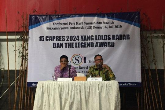 LSI Denny JA sebut 15 capres potensial di Pilpres 2024