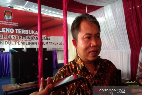 KPU Gunung Kidul tunda penetapan caleg pemenang Pemilu 2019