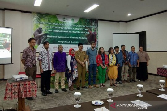 Pemprov Kalteng dukung konservasi di bentang alam Rungan